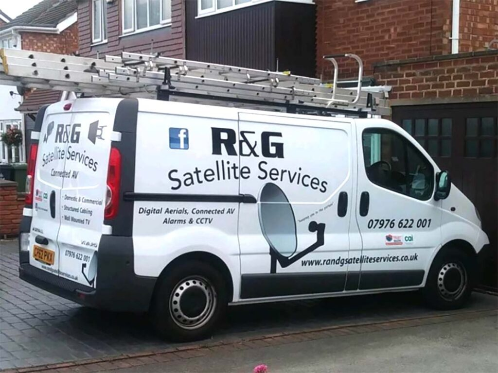 R and G Satellite Services West Midlands and Walsall